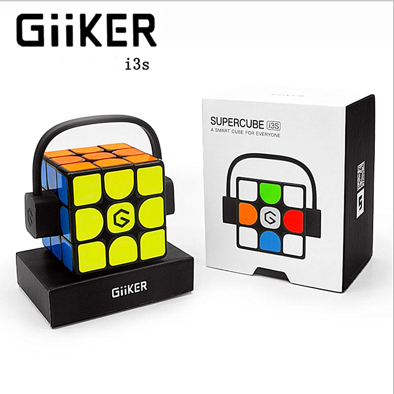 Giiker Cube I3S 3x3x3 Cube Magnetic 3x3 Super Smart Speed Cube  Giiker 3x3x3 Magnetic Magic Cube App Remote 3x3x3 Puzzle Cube