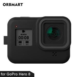 Image 5 - Futerał silikonowy do GoPro Hero 8 ochronny futerał silikonowy obudowa skóry pokrowiec do GoPro Hero 8 czarny akcesoria do kamer w ruchu