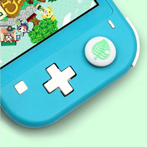 Image 4 - Animal Crossing Secretary Puppy Dog Isabelle Thumb Stick Grip Cap Joystick Cover For Nintend Switch Lite Joy Con Controller Case