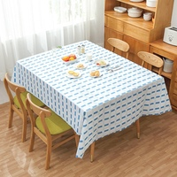 Home Simple Waterproof Tablecloth Foldable Rectangle Party Desk Decoration Cloth 2019 new