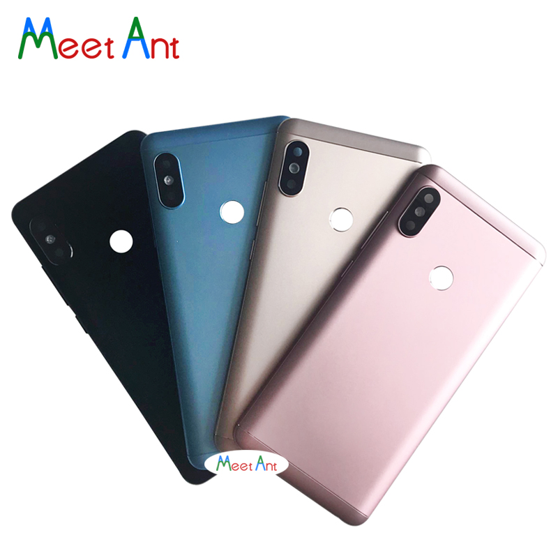Replacement high quality For Xiaomi <font><b>Redmi</b></font> <font><b>Note</b></font> <font><b>5</b></font> / <font><b>Note</b></font> <font><b>5</b></font> <font><b>Pro</b></font> Back Housing <font><b>Battery</b></font> <font><b>Cover</b></font> Door Rear <font><b>Cover</b></font> image