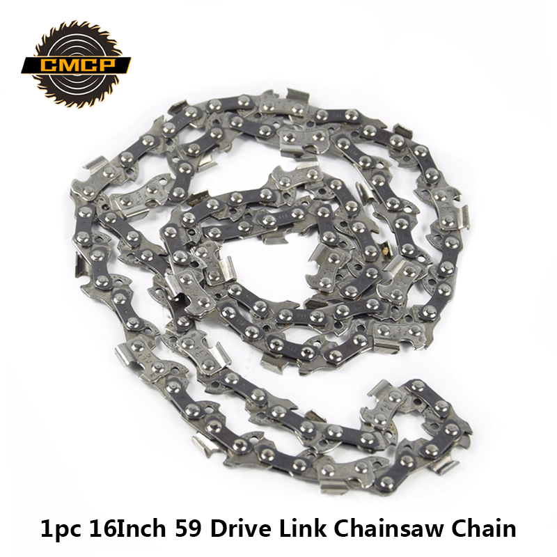16 Inch Chainsaw Chain Bar 59 Drive Links Replacement Parts Chainsaw Spares For Electric Saw For Wood Cutting