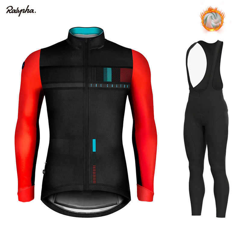 New Gobiking 2019 Racing Thermal Fleece Cycling Jersey Set Cycling Bib Shorts Bike Jersey Set Ropa Ciclismo Hombre Cycling Kit