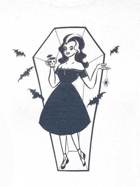 Beautiful Witch Bat T-shirt