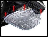 Araba aksesuarları Chevrolet Captiva plastik motor koruma 2009-17 Captiva motor skid plaka çamurluk alaşımlı çelik motor