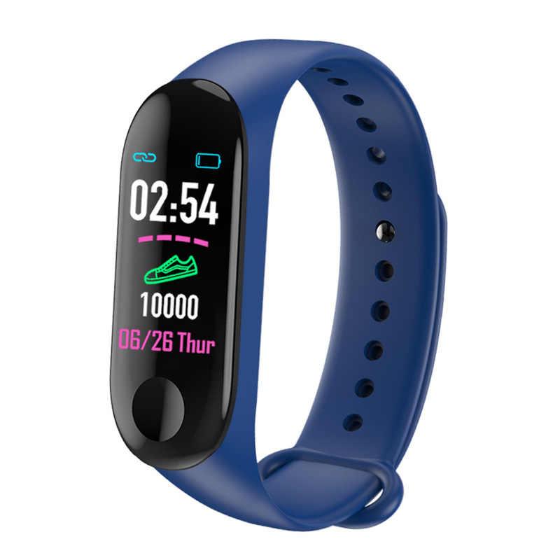 M3 Più Smart Bluetooth Braccialetto di Vigilanza di Frequenza Cardiaca/Monitor della Pressione Arteriosa/Fitness/Inseguitore Impermeabile Banda Intelligente Accessori per Articoli Elettronica Smart
