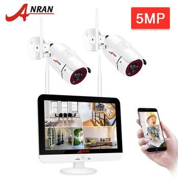 ANRAN 5MP 2CH Super HD NVR Kit Security Camera System CCTV Security System IP Camera Outdoor P2P Video Surveillance Set H.265