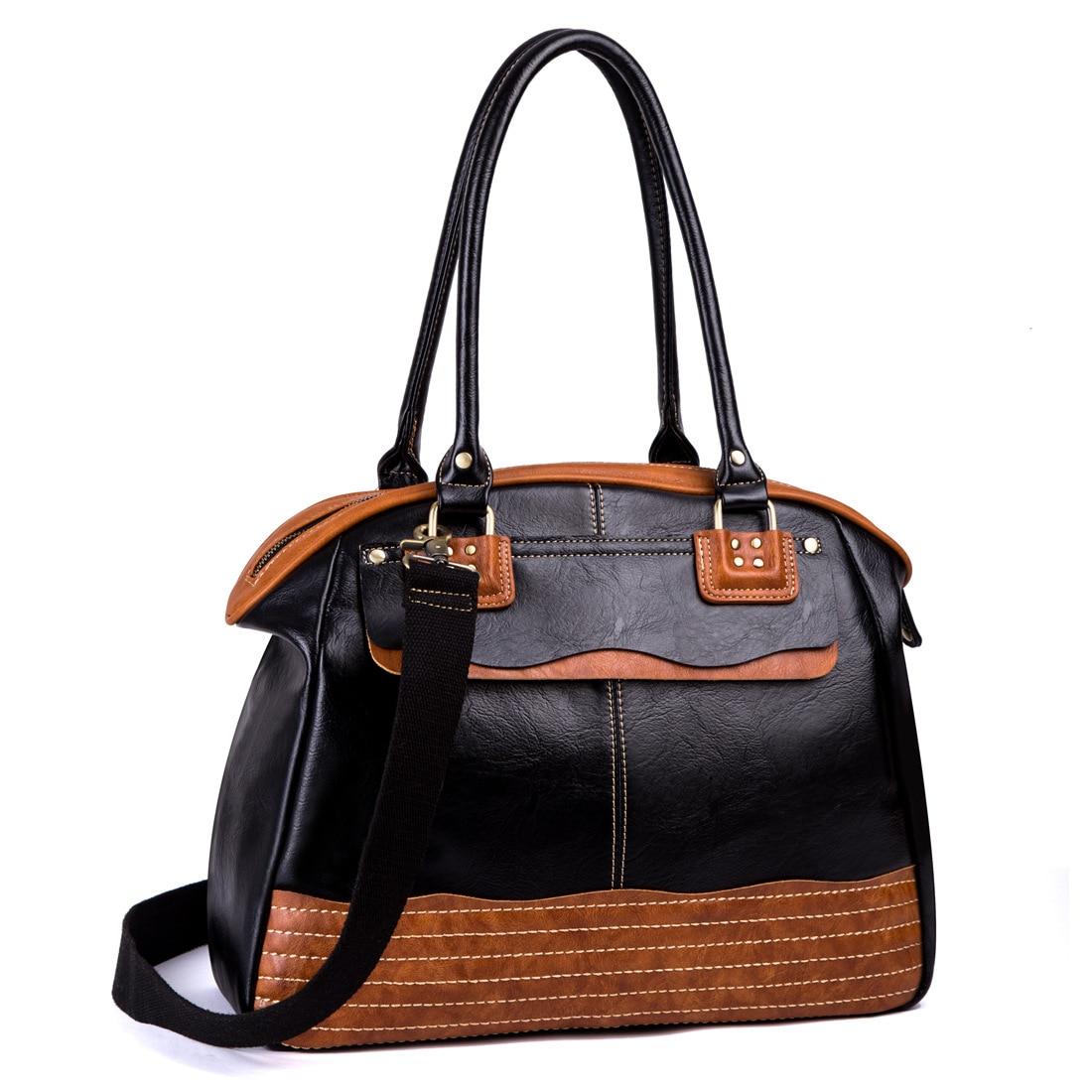 Casual Style Men Shoulder Bag Large Capacity Briefcase Bag Office Handbag Top Designer Office Handbag Luxury Messenger Bags