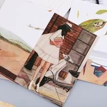 30 листов картин happyness Ретро винтажная открытка Рождественская
