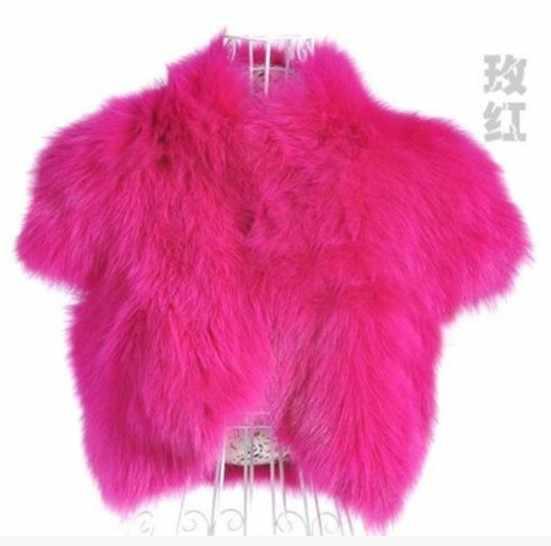2019 Vetement Winter vrouwen Faux Vos Bont Vest Party Slim Preppy Taille Jas Plus Size Wilde Pluizige Imitatie Bont vest AW218