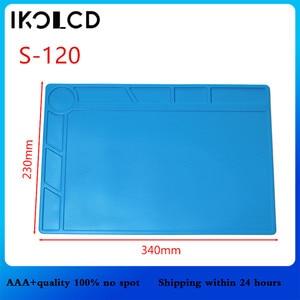 Image 2 - Isı yalıtımlı silikon yastık sümen bakım platformu tornavida cep telefonu için pc bilgisayar BGA lehimleme onarım aracı