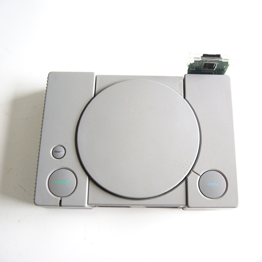 Modify PSIO Game Device CD Free SDL CD ROM Driver Board Simulator Burner Recorder 3D Printer Case For PS SD PS1 Console