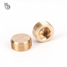 1/8 1/4 3/8 1/2 3/4 BSP Male Thread Brass Hex Head Socket End Cap Plug Copper Coupler Connector Adapter Pipe Fittings plastic hose pipe fittings f m 1 2 3 4 pt male to female thread hex bushing pipe fittings adapter