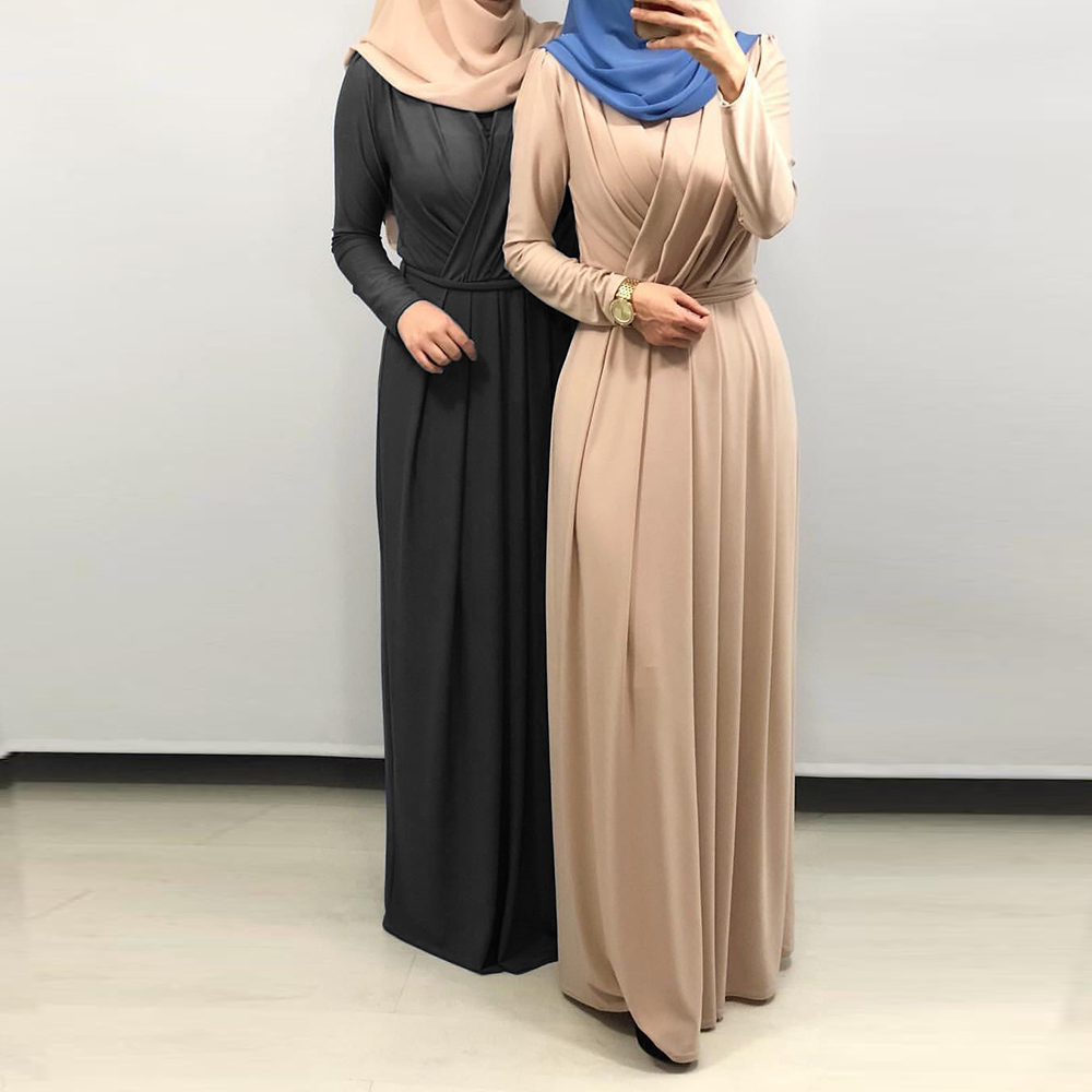 Eid Mubarak Kaftan Dubai Abaya Turkey Muslim Fashion Hijab Dress Islam Clothing Abayas Maxi African Dresses
