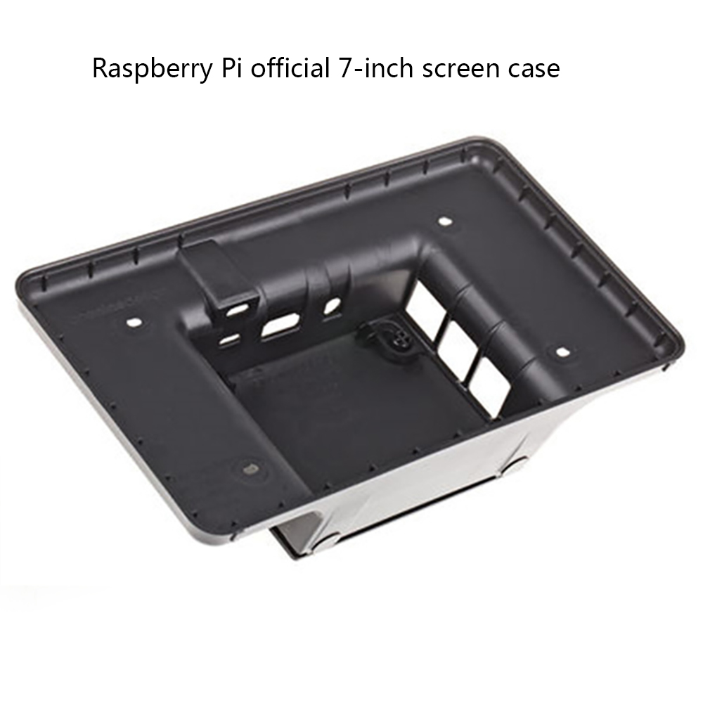 Raspberry Pi 7-Inch LCD Touch Screen Case Black For Raspberry Pi 3b / 3b + ,only the case not include the screen(China)