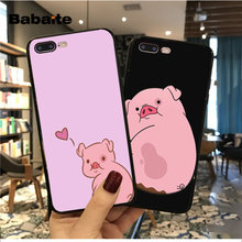 Babaite Cartoon Anime Gravity Falls pig Coque Shell Phone Case for iPhone 5 5S SE 6 6s 7 7plus 8 8Plus XRX XS MAX cover(China)