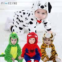 1-3 Years old Baby Animals Cosplay Kigurumis Kids Onesie Cartoon Cute Sleep Suit Toddler Anime Costume play Fantasias  Wholesale