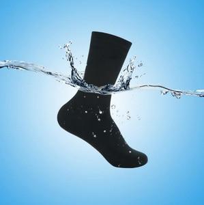 Image 2 - Men high quality knee high breathable coolmax Muslim durable wudhu running waterproof/windproof thermal outdoor sports socks