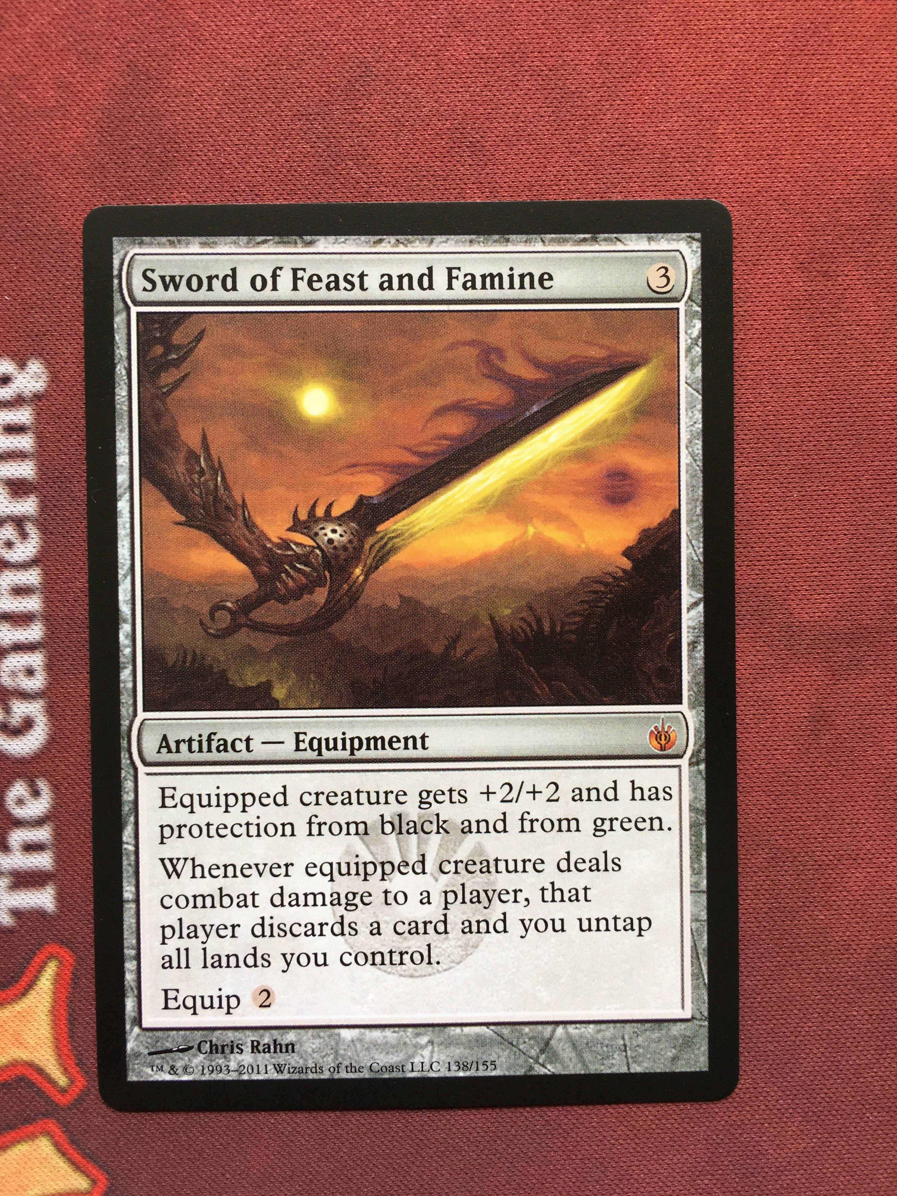 Sword Of Feast And Famine Mirrodin Besieged Magician ProxyKing 8.0 VIP The Proxy Cards To Gathering Every Single Mg Card.