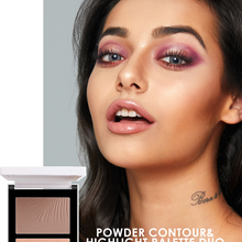 Bronzer Highlighter Face-Makeup-Stick-Cream Texture-Contour Double-Head FOCALLURE Iluminador
