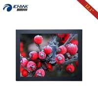 "ZB120TN-592/12.1 ""zoll 1024x768 AV BNC HDMI VGA Metall Shell PC Monitor LCD Screen Display USB port Steckbare U-festplatte Video-Player"