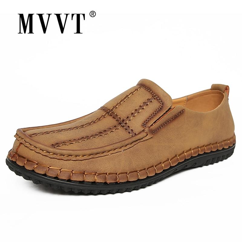 Super Comfortable Casual Leather Shoes Men Soft Leather Loafers Men Shoes Breathable Flats Shoe Hot Sale Moccasins Shoes
