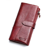 Genuine Leather Wallet Birthday Gift For Women Purse Clutch Bag Designers Brand Wallet Women luxury wallet mens wallet leathe