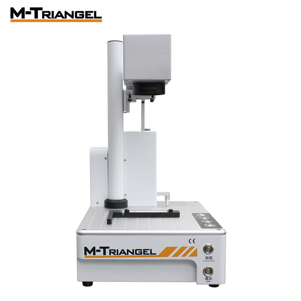 M-Triangel 20W Fiber Laser Engraver Machine LCD Separator Back Cover Separating For IPhone 8/8P/X/XS/XR/XS Max CNC Printer