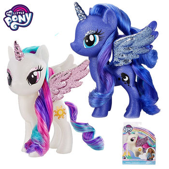 Original My Little Pony Universe Moon Princess Decoration Doll Model Toys for Children Baby Birthday Gift for Girls Bonecas marvel universe hero pa change peter jackson s king wolf joint diy do model doll goods of for display rather for toys gift