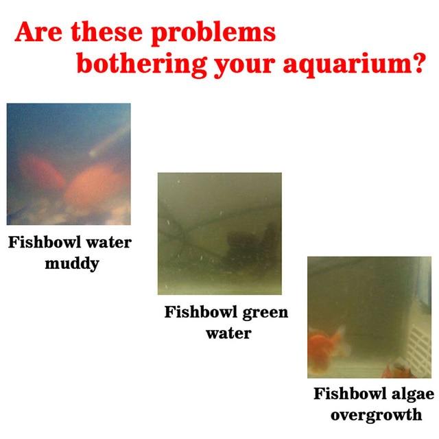 Algae Purifier Aquarium Safe Algae Remover Water Purification for Fish Aquatic Pet Supplies Tank Ponds Water Treatment Tool 4
