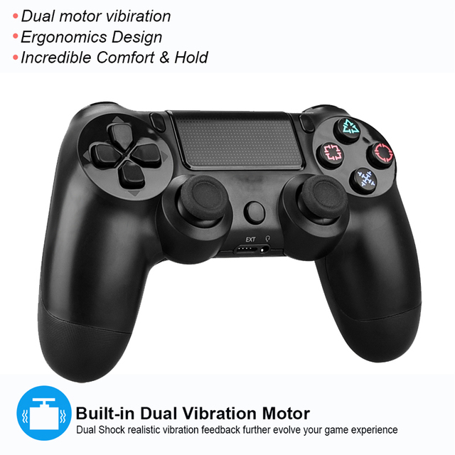 Wireless Bluetooth Game Controller For PS4 Playstation 4 Gamepad Joysticks For PS4 Game Console Support Dual Vibration 5