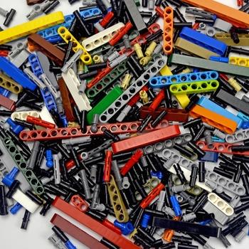 Akcesoria techniczne luzem cegła Pin Peg Beam Axle Connector Studded Beam MOC wiele rozmiarów części do technologii samochodowych bloki konstrukcyjne tanie i dobre opinie leduo 7-12y 12 + y CN (pochodzenie) Unisex Mały klocek do budowania (kompatybilny z Lego) Certyfikat ED200513055C001 SM5209A
