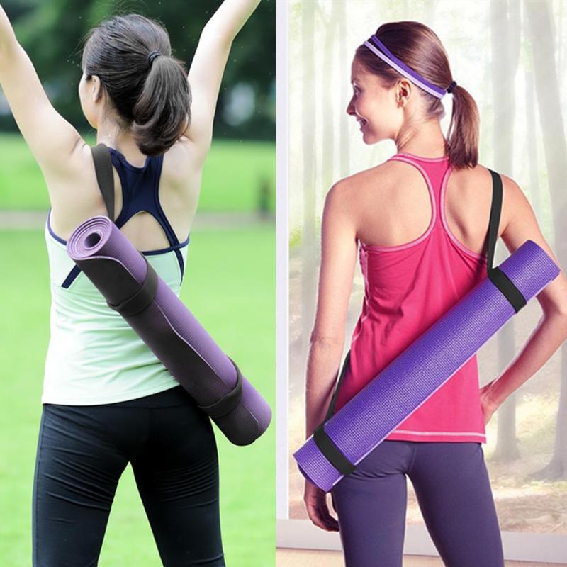 Adjustable Yoga Mat Sling Carrier Shoulder Strap Carry Belt Carrying Sling