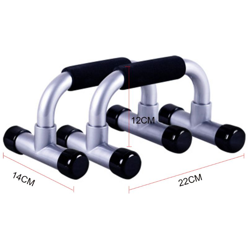 Non Slip Push Up Bracket Bar Sports I Type Hand Handle Fitness Equipment Stands
