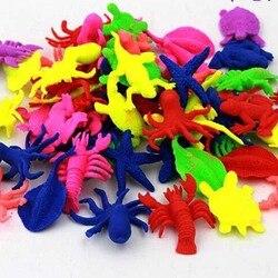 20PCS Sea Baby Cartoon Animal Crystal Soil Hydrogel Mud Growing Balls Water Jelly Gel Beads Home Aquarium Decoration