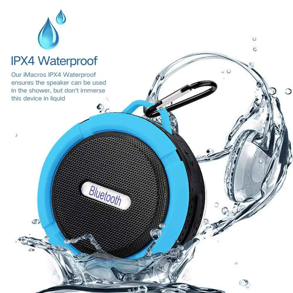 Portable Column Speaker Wireless Bluetooth Waterproof Speaker Support TF card Stereo HiFi Boxes caixa de som portatil bluetooth