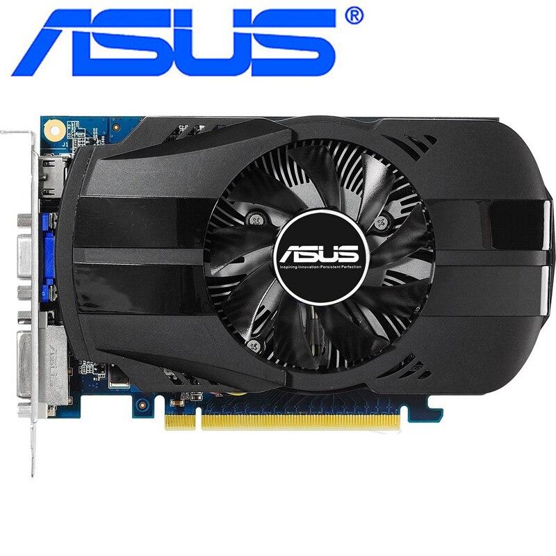 Оригинальная графическая карта ASUS GTX 650, 1 Гб, 128 бит, GDDR5, видеокарта для nVIDIA Geforce GTX650, Hdmi, Dvi, VGA карты, распродажа, б/у
