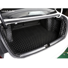 цена на Car Trunk Mat Boot Liner Tray Car Rear Trunk Cargo Mat Protective Auto Accessories For Volkswagen VW Jetta MK7 2019 2020