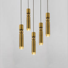 Креативный железный подвесной светильник в стиле постмодерн