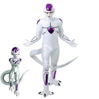 Dragon Ball Super Frieza Cosplay Costume Halloween Custom Made Frieza Jumpsuits full set uniform cosplay