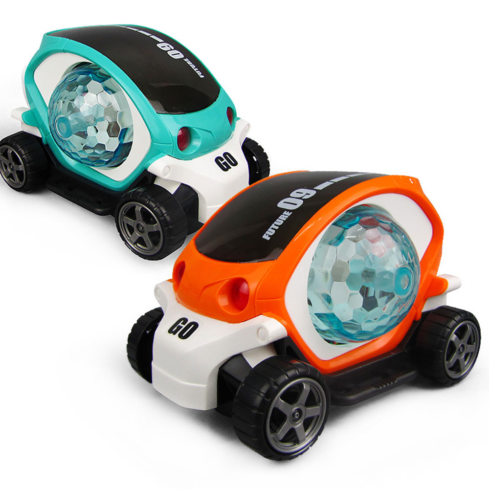 3D Electric Car Toy Supercar Style With Universal Wheel Sound Lights Music Car Toy Educational Boys Kids Toys For Birthday Gift