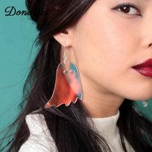 Donarsei Хэллоуин акриловая искусственная кожа для женщин женские