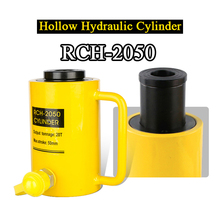 Hollow Hydraulic Cylinder RCH-2050 Hydraulic Jack with Tonnage of 20T, Work Travel of 50mm