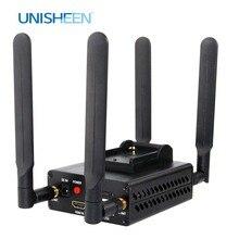 4G LTE H.264 RTMP Video Encoder HDMI ต่ำ Lantency Live Stream เครื่องส่งสัญญาณ Ip Encoder ออกอากาศไร้สาย wowza youtube facebook