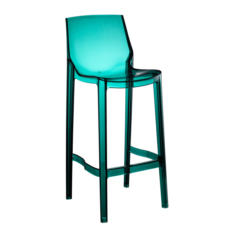 Transparent Bar Chair,   Nordic Stool, Acrylic  High     Chair