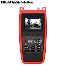 HD Digital Satellite Finder Meter Support Video Display Spectrum Satfind DVB S2 2.3