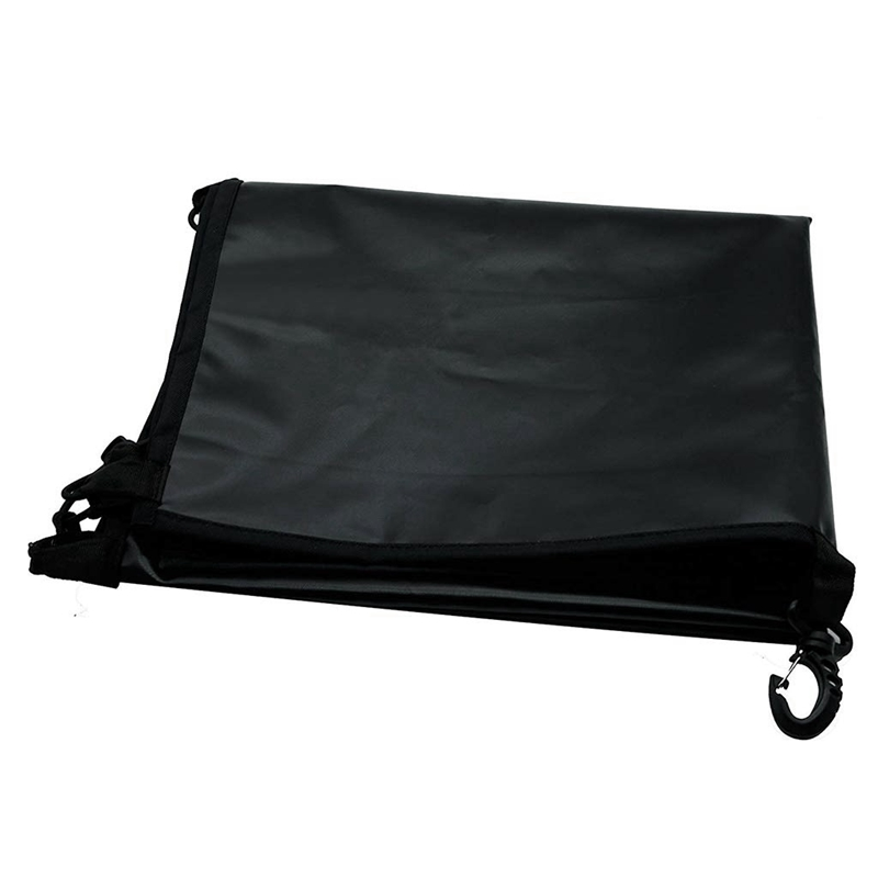 Universal Polyester Canoe Cove Kayak Cockpit Waterproof Dust Cover Protector Suitable for Boat 70X45Cm