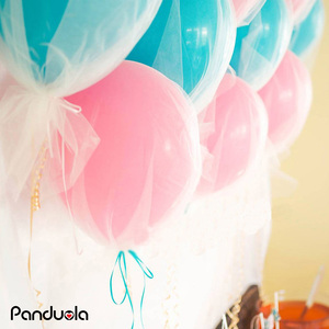Image 5 - 36inch Confetti Balloon Tulle Round Giant Balloons Happy Birthday New Year Wedding Xmas Christmas Decoration Party Fovors Globos
