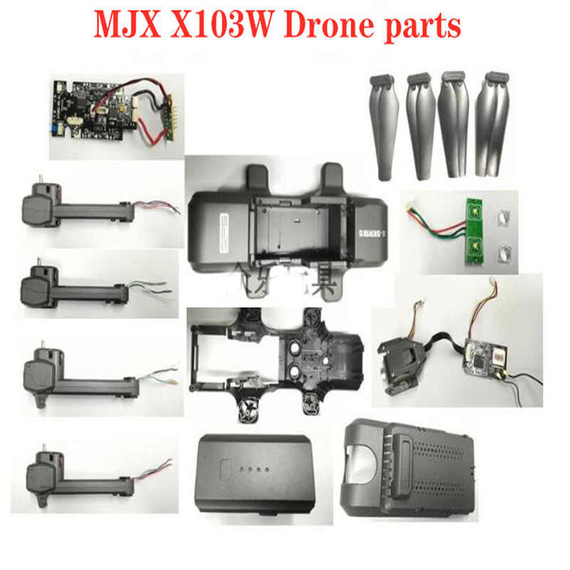 MJX X103w RC Drone onderdelen Blade Motor 5G High Definition Camera Shell