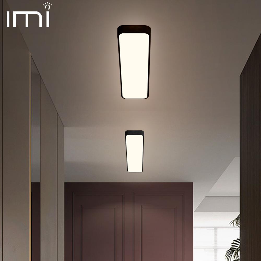 Lâmpada de teto moderna led, luminária retangular, escritório, controle remoto, superfície, montagem no painel, sala de estar, 110v 220v v v
